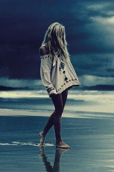 Dark boho and beachy