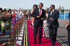 Dar es Salaam, Tanzania. You go Mr President!