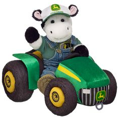 For the John Deere lover... get a cuddly cow! $80.50