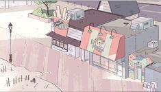 Cenários de mais 5 episódios de Steven Universe | THECAB - The Concept Art Blog