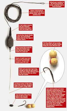 How to tie the perfect in-line big carp fishing rig