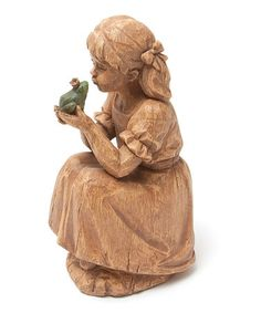 Take a look at this Girl & Frog Prince Figurine by Evergreen on #zulily today!