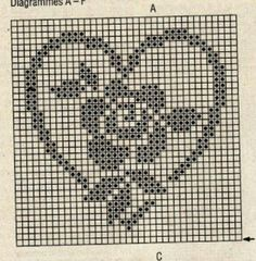 Picasa Web Albums – filet crochet chart The Effective Pictures We Offer You About Crochet Pattern stitches color combos A quality picture can tell you. Filet Crochet Charts, Crochet Diagram, Knitting Charts, Crochet Motif, Crochet Yarn, Crochet Stitches, Crochet Doilies, Crochet Coaster, Thread Crochet