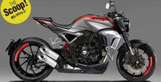 2018 Honda CB 1000 R standard Young Machine Rendering Yamaha Cafe Racer, Honda Cb1000r, Cb 300, Bike Sketch, Cafe Racer Magazine, Tokyo Motor Show, Motorbike Design, Motorcycle Wallpaper, Futuristic Motorcycle