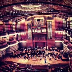 I would love to be in an orchestra and so that I can experience the music from within.
