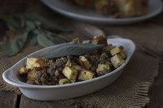 Low Carb Keto Sausage and Bread Stuffing Recipe. LCHF THM Banting.