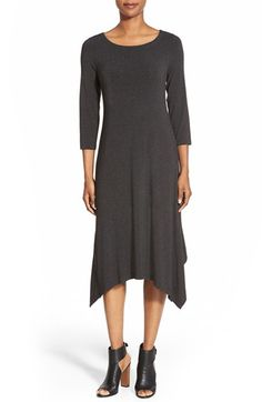 Eileen Fisher Asymmetrical Jersey Dress available at #Nordstrom