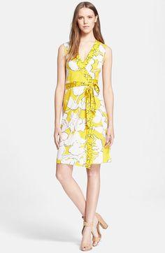Diane+von+Furstenberg+'New+Yazi'+Wrap+Dress+available+at+#Nordstrom