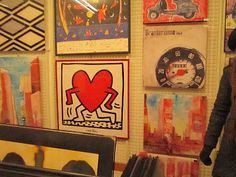 Keith Haring's Heart must be running away from some BHAG!