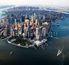 Visit New York City. I have to see this place.