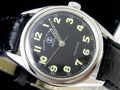70'sスイスファーブル ルーバSEA KING手巻アンティーク 時計 Watch zenith ¥8925yen 〆05月02日