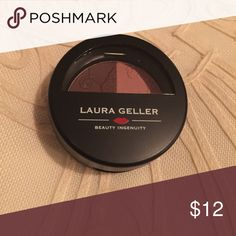 Laura Geller baked impression duo eyeshadow Color fine wines Laura Geller Makeup Eyeshadow