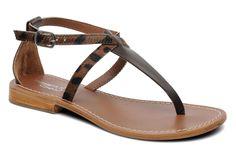 Elizabeth Stuart Hopper 838 (Marron) - Sandales et nu-pieds chez Sarenza (178131)