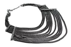 Chains & diamonds. One of our edgier pieces in the Black Collection