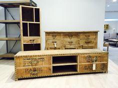 Vintage tv-bord - kollektions prøver!
