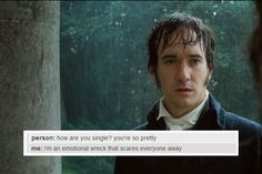 Mr Darcy's internal life