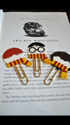 Harry and friends book marks