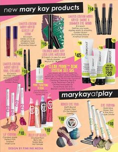 Fall 2013 products - New ClearProof skin care, New Mary Kay @ Play and some limited edition