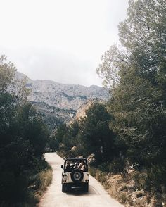 Explore the hinterland of Benidorm with a jeep safari | via Last Days of Spring