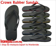 Visit- http://www.hanyaw.com.my/Products/Crown_Rubber_Sandals_CH-815.html