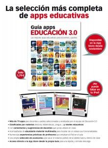 ¡Ya disponible en la App Store la Guía apps Educación 3.0!