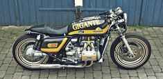 Honda Goldwing Bobber created by Lars in Denmark