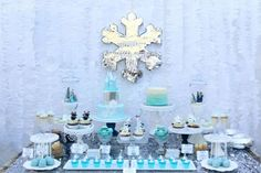 Little Big Company The Blog: A Frozen Themed Party by Paper Playground for her daughters birthday