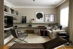 Decoração de Interiores em Apartamento Vila Nova Conceição - Decoradora Marilia Veiga