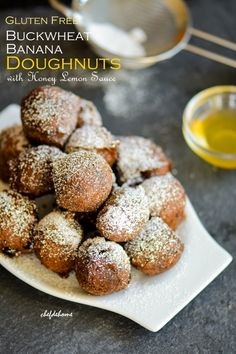 In recognition of May as Celiac Disease Awareness Month, I'm sharing with you gluten free version of, one of my favorite breakfast, doughnuts with honey-lemon sauce.Celiac Awareness Month is an eve...