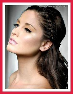 cute hairstyles for long hair with braids