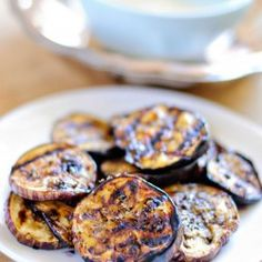 Balsamic Grilled Eggplant - a Paleo Recipe on chowstalker