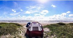 Beach Camping = Heaven ::Mustang Island State Park, Corpus Christi TX:: October in Texas 2016