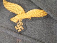 Pocket Eagle more details @ www.ww2militaria.net The Third Reich, Luftwaffe, Armed Forces, World War, Eagle, Pocket, Color, Special Forces, Air Force
