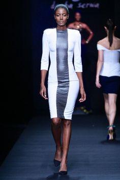 Duaba Serwa ~ Mercedes-Benz Fashion Week Africa 2013 - Pretoria #MBFWAFRICA #Ghana