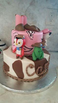 Sheriff Callie cowgirl birthday cake!