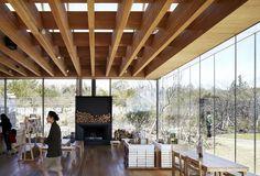 Osulloc Tea House Pavilions  by Mass Studies (Architects) Jeju-do, South Korea. Photo© Yong-Kwan Kim