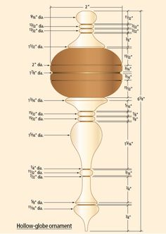 Get expert instruction from Judy Ditmer on turning two wooden ornaments – a spindle and globe (then use your imagination to make them your own! Lathe Projects, Cool Woodworking Projects, Popular Woodworking, Woodworking Wood, Wood Router, Wood Lathe, Cnc Router, Christmas Wood Crafts, Wooden Christmas Ornaments