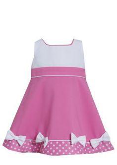 Bonnie Jean  Dotted Jacquard Dress  Coat