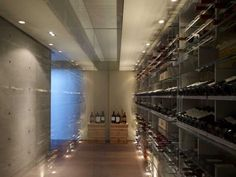 Lavish And Luxurious Dream House Designs – Rich Interior Wine Cellar