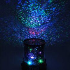 LED Sternenhimmel Projektor Baby Kinder Einschlafhilfe Nachtlicht Sterne Lampe: Amazon.de: Beleuchtung