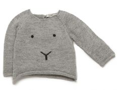 Oeuf NYC - Oeuf NYC Bunny Sweater - Baby clothing, maternity and baby shower gifts