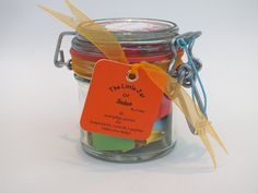 A Month of ★Success & Inspiration★ quotations in a jar. The Perfect Inspirational Gift for the loved ones in your life especially for Birthdays, Graduation and other special holidays - Good Luck wishes for exams. Each jar contains 31 Multi-coloured Quotes - a month of motivational Thoughts and Sayings in a 125ml Kilner clip type glass jar to inspire loved ones to happiness & success. For friends, family - mum, dad, wife, brother, husband, sisters, aunt, uncles, friend, teacher.