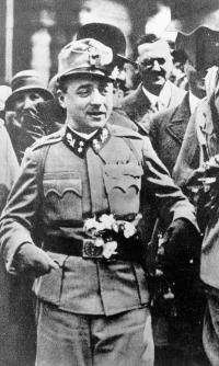 "On July 25th 1934, Chancellor Engelbert Dollfuss of Austria was assassinated by Nazi agents. ""Dollfuss once said, 'For me the fight against National Socialism is essentially a fight in defense of the Christian conception of the world. Whereas Hitler wants to revive the old German paganism, I want to revive the Christian Middle Ages.' A week later, Hindenburg died. (Metaxas, Bonhoeffer, p. 232) Paganism, Socialism, Conception, Middle Ages, German, Old Things, Faith, Christian, History"