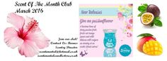 Scent Of The Month Club! Join my club and get Scentsy to your door each and every month :) Read more and learn how to sign up!