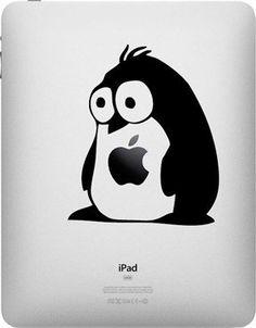 Fluffy Penguin Black Silhouette Macbook Symbol Keypad Iphone Apple Ipad Decal Skin Sticker Laptop Southern Sticker Company http://www.amazon.com/dp/B00HYJ5OV0/ref=cm_sw_r_pi_dp_QEIUtb07KQRX6GKB