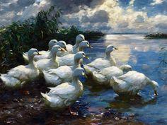 Alexander Koester (1864-1932) German Painter.