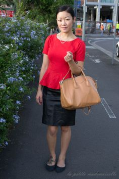 BLOGGED la petite mademoiselle: hunt no more. Glassons top / Hunt No More skirt / Sterling & Hyde bag
