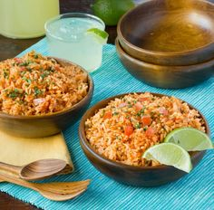 If you've ever attempted your favorite Mexican restaurant's rice at home and failed, raise your hand. Well, you can put it down now, because this one is my all-time family favorite and I think it will become yours, too. To be honest, I like it so much better than the rice usually served when I dine out.