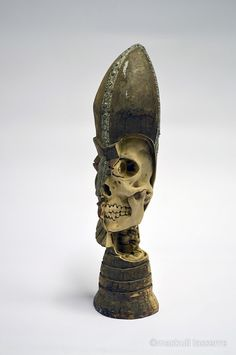 The Skeleton Inside: Re-Carvings by Maskull Lasserre