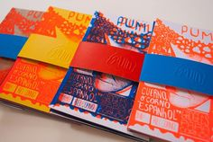 Pum Zine is a postcard independent project by Estudio Pum with fun drawings from 1 to number Silkscreen / 9 x 12 cm / each pack contains Book Design Layout, Print Layout, Brochure Layout, Brochure Design, Postcard Layout, Postcard Design, Design Editorial, Art Zine, Leaflet Design